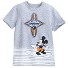 Disney Boys Shirt - Surfer Mickey Mouse