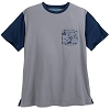 Disney Men's Shirt - Passport Collection Pocket Tee