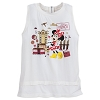 Disney Women's Shirt - Minnie Hollywood Studios Zip Tank