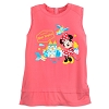 Disney Women's Shirt - Minnie Magic Kingdom Zip Tank