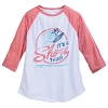 Disney Women's Shirt - Minnie - It's A Shore Thing - Raglan