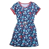 Disney Women's Dress - Mickey Mouse Floral Ringer Dress