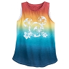 Disney Women's Shirt - Rainbow Ombre Mickey Mouse Tank Top