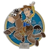 Disney VISA Pin - Woody Riding Bullseye - 2018
