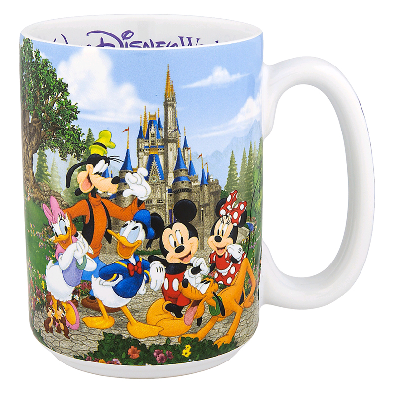 Disney Coffee Cup - New Storybook Attractions - Grandma