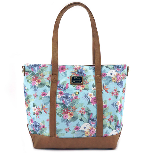 a409670ffcc Add to My Lists. Disney Tote Bag - Loungefly x Stitch Tropical Floral Print