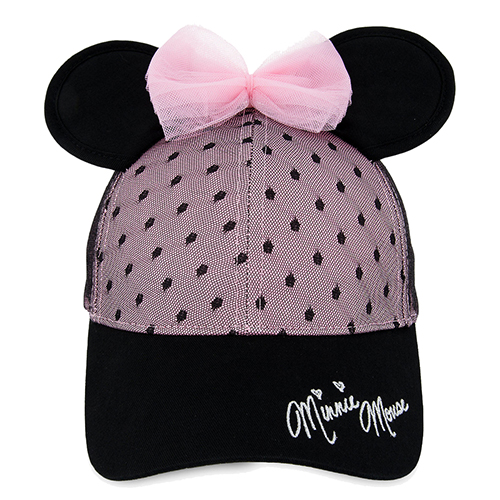 7d68a001aee38 Disney Baseball Cap - Sweet Minnie Mouse Ears for Women