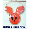 Disney Popcorn Bucket - Mickey Balloon Bucket - Red