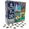 Disney Parks Signature Puzzle Set - Disneyland 60th Anniversary - 4 Puzzles