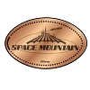 Disney Pressed Penny - Space Mountain Logo