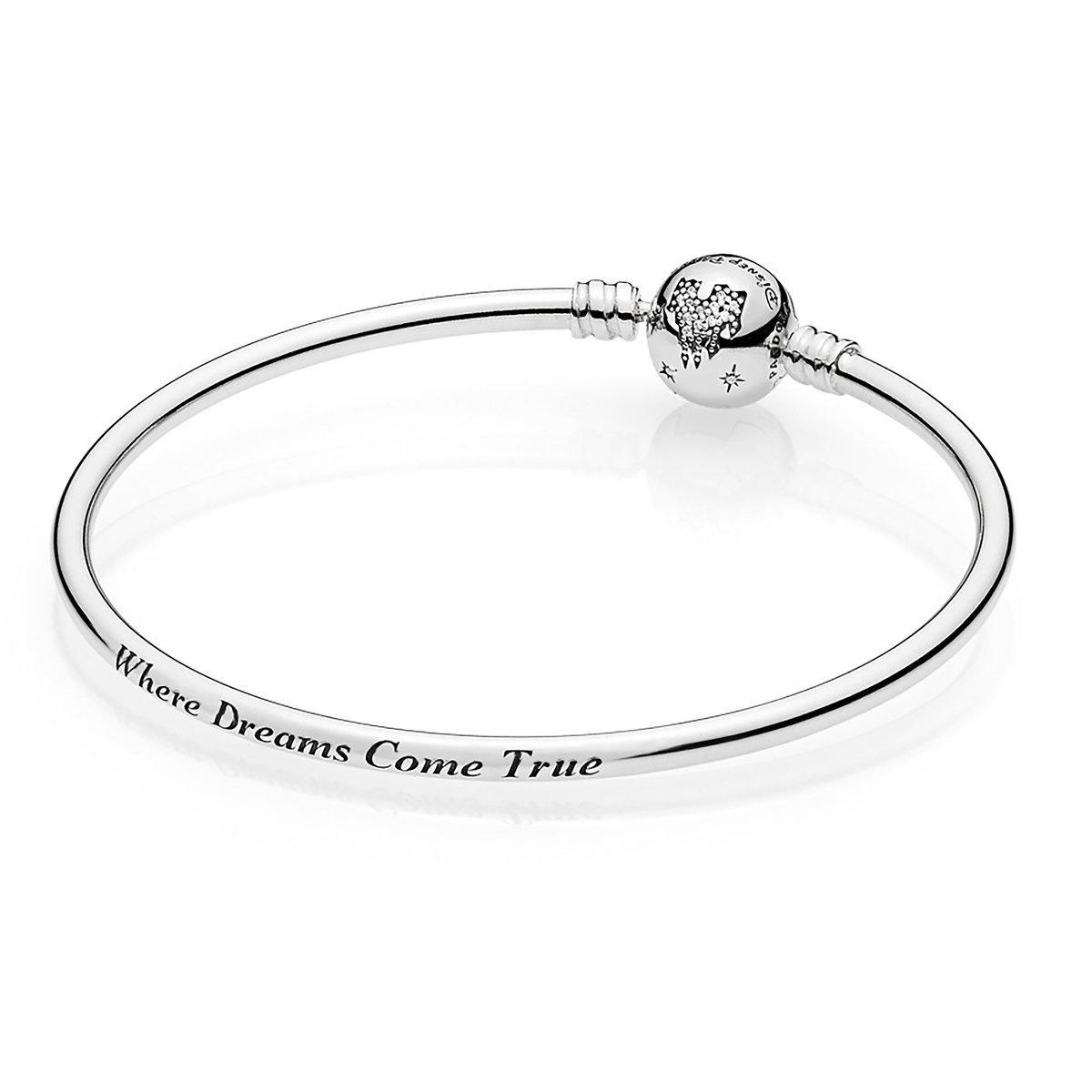 save off latest discount exquisite style Disney Pandora Bangle - Fantasyland Castle Bracelet - 7.5