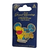 Disney Shanghai Pin - Grand Opening WINNIE the Pooh On Icon Background