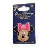 Disney Shanghai Pin - Grand Opening - Minnie Mouse Face with Pink Bow