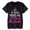 Disney Girls Shirt - I'll be in my Castle
