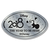 Disney Pressed Quarter - 2018 Minnie Face
