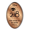 Disney Pressed Penny - 2018 Animal Kingdom Tree of Life