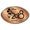 Disney Pressed Penny - 2018 Mickey