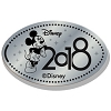 Disney Pressed Quarter - 2018 Mickey Standing