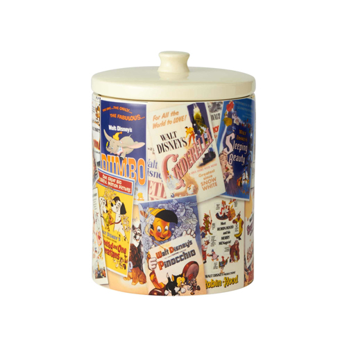Disney Cookie Jar - Ceramic Disney Collage Jar