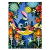 Disney Postcard - Stitch by Joey Chou