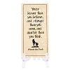 Disney Art - Winnie the Pooh Quote Tile with Display Stand