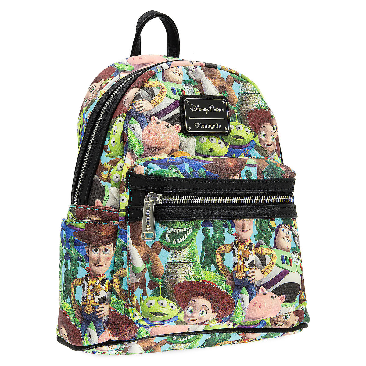 140833cf305 Disney Parks Mini Backpack - Toy Story Character Fun by Loungefly