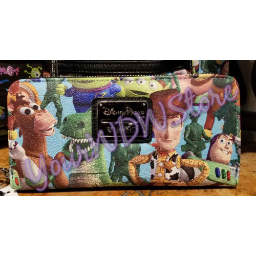 fcf02e7b45 Disney Parks Wallet Toy Story Character Fun By Loungefly X