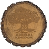 Disney Magnet - Disney's Animal Kingdom 20th Wood Magnet