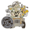 Disney Animal Kingdom Pin - 20th Anniversary - Mickey and Friends