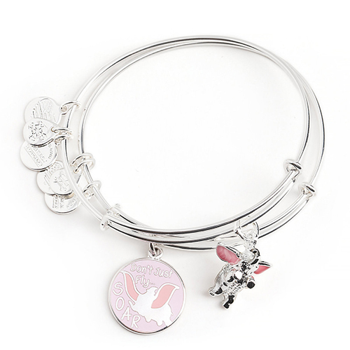 Disney Alex and Ani Bracelet - Dumbo Bangle Set