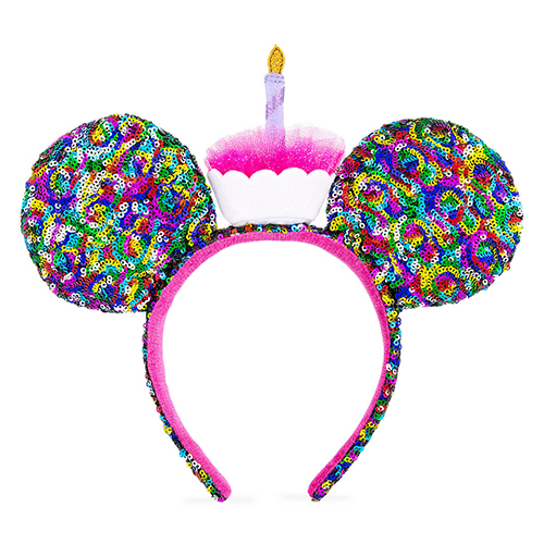 Disney Ears Headband Minnie Mickey Mouse Birthday