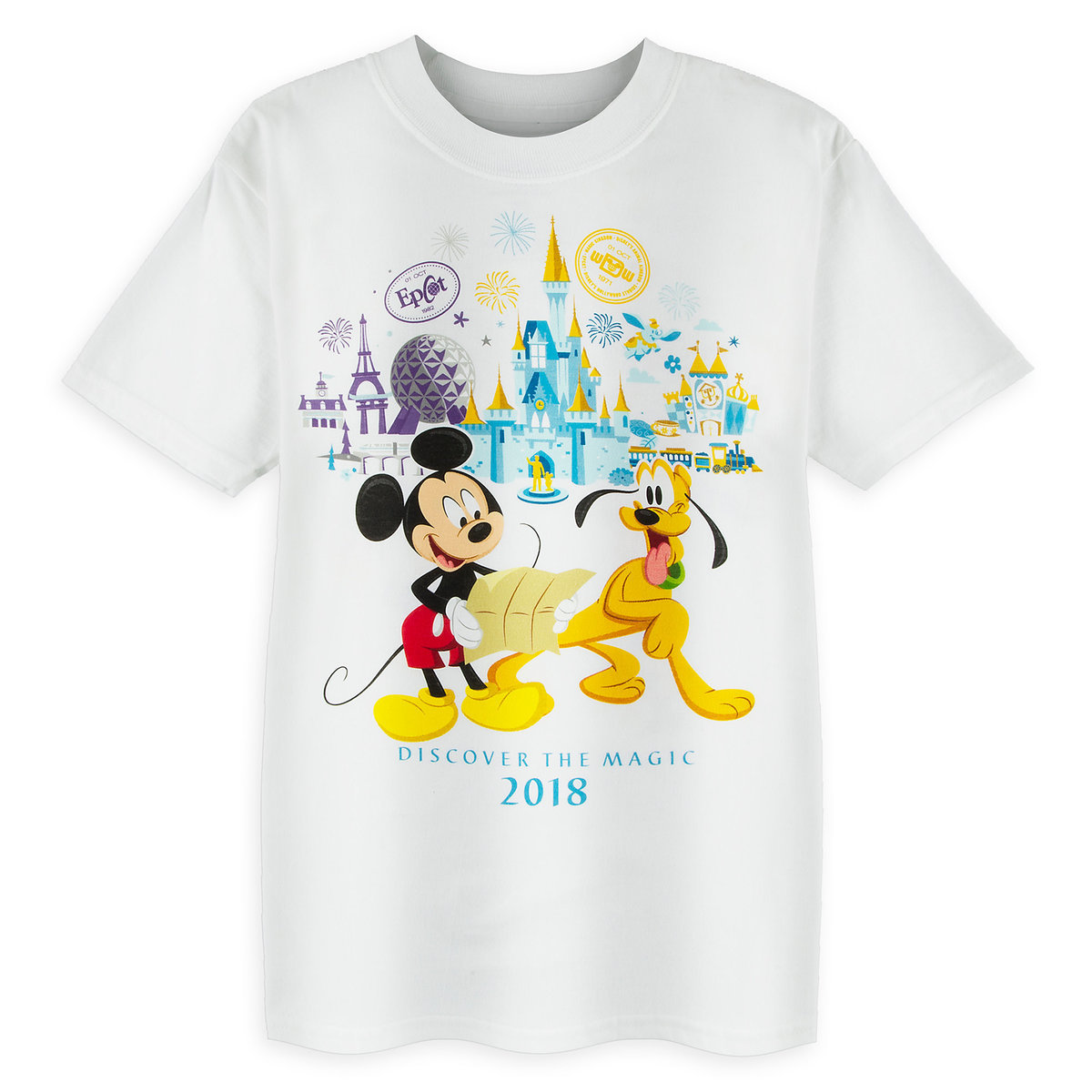 Disney Child Shirt - 2018 Discover the Magic Mickey and Friends