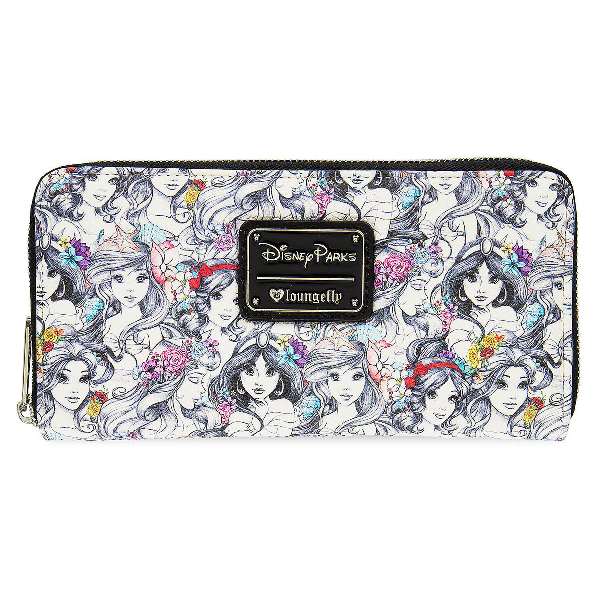 7cce3a68378 Add to My Lists. Disney Parks Wallet - Disney Sketch Princesses by Loungefly
