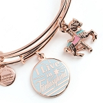Disney Alex and Ani Bracelet - ''I Live in Fantasyland'' Bangle Set
