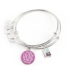 Disney Alex and Ani Bracelet - Cheshire Cat Mad Tea Party Bangle Set