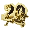 Disney Animal Kingdom Pin - 20th Anniversary - Hinged Gold Antelope