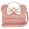 Disney Loungefly Crossbody Bag - Minnie Ears and Bow - Pink