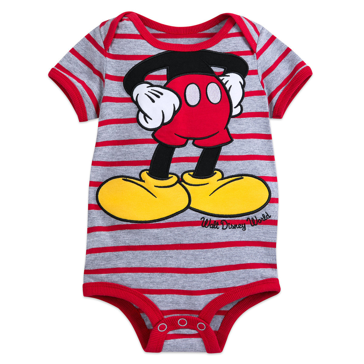 Disney Baby Bodysuit - Mickey Mouse Striped Onesie. Tap to expand ad3a89518