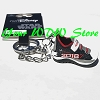 Disney Star Wars Half Marathon 2018 Dark Side Sneaker Keychain