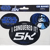 Disney Car Bumper Magnet - Star Wars Half Marathon 2018 I Did It 5K