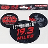 Disney Car Bumper Magnet - Star Wars Half Marathon 2018 I Did It 19.3