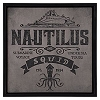 Disney Signage - Nautilus and Squid Wall Sign
