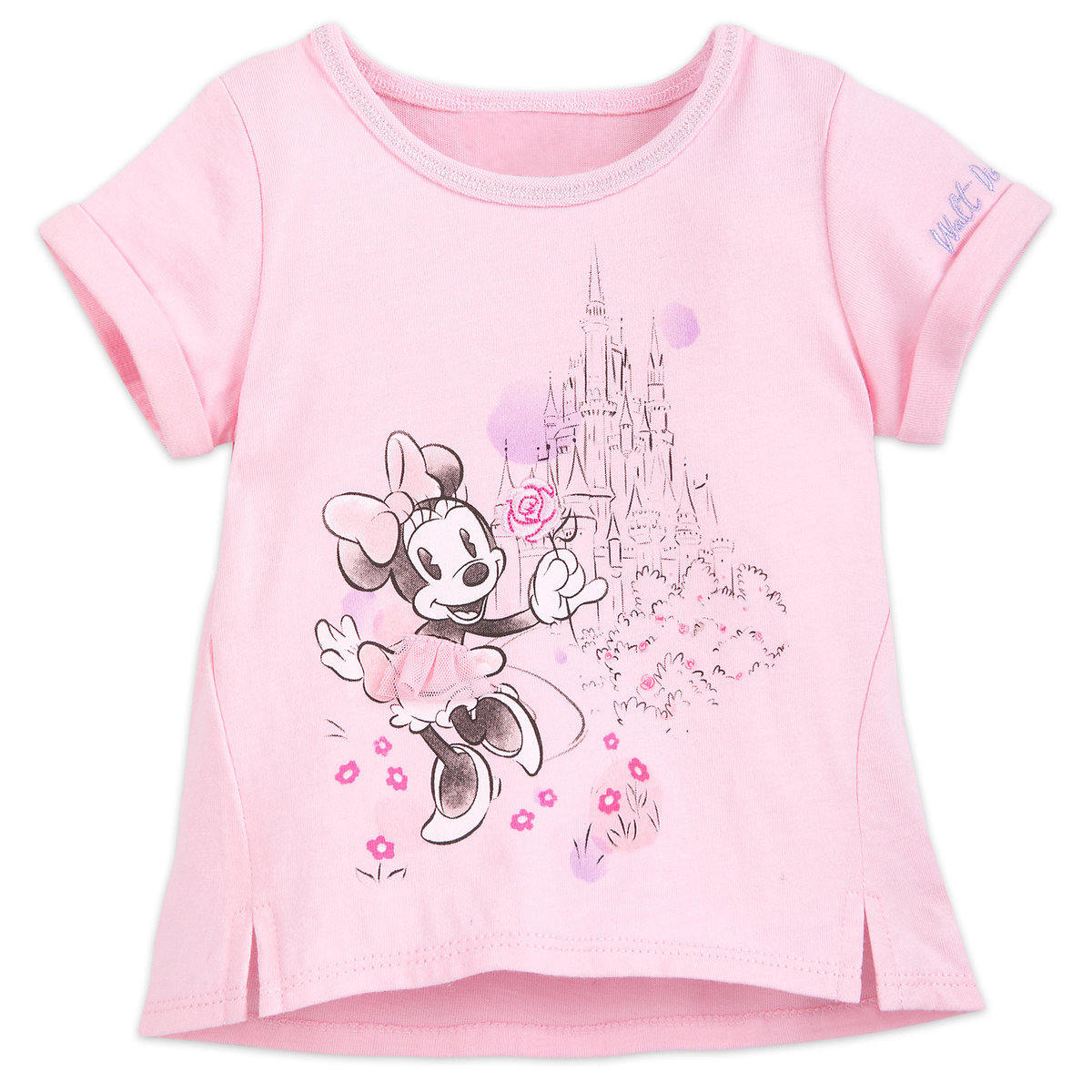 Disney Baby Shirt Sweet Minnie Mouse At Cinderella Castle