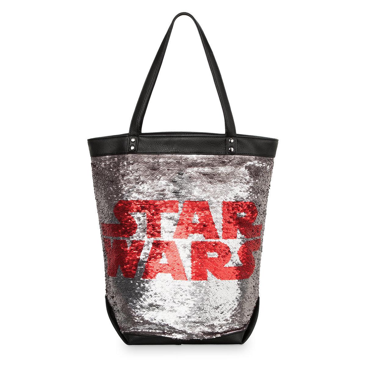 Disney Tote Bag Star Wars Logo Sequin