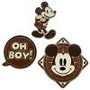Disney 3 Pin Set - Mickey Mouse Memories - Aviator Mickey