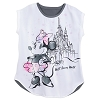Disney Women's Shirt - Sweet Minnie Mouse at Cinderella Castle