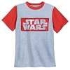 Disney Boys Shirt - Star Wars Logo Ringer T-Shirt