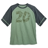 Disney Adult Shirt - Animal Kingdom 20th Anniversary - Green Raglan