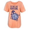 Disney Women's Shirt - Animal Kingdom 20th Anniversary - Orange