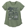 Disney Women's Shirt - Animal Kingdom 20th Anniversary - Green